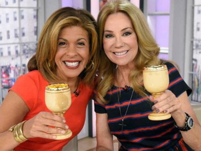 Hoda Kotb and Kathie Lee Gifford have hosted the fourth hour of the Today show since 2008. Picture: Facebook