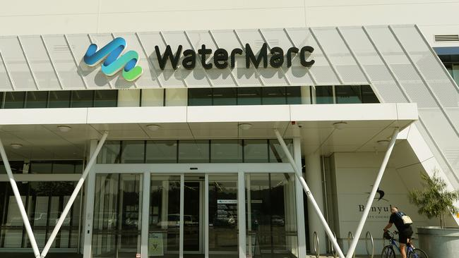 The WaterMarc Aquatic Leisure Centre ensures a lifeguard is supervising the drop off zone.