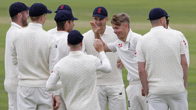 Sam Curran was the destroyer as the Aussie batsmen struggled.
