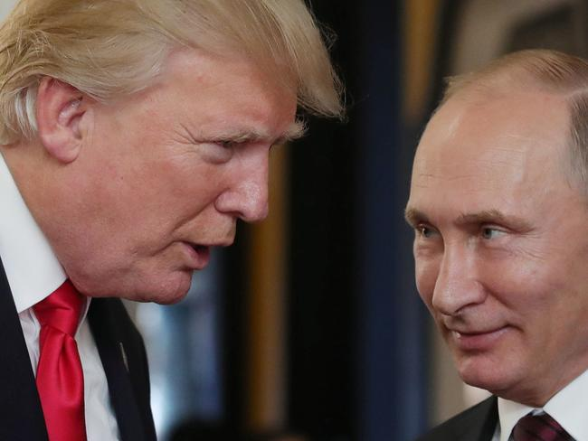Mr Trump has said he will ask Mr Putin about allegations of electoral interference.