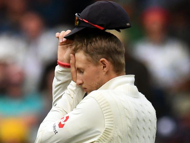 England's captain Joe Root. Yep.