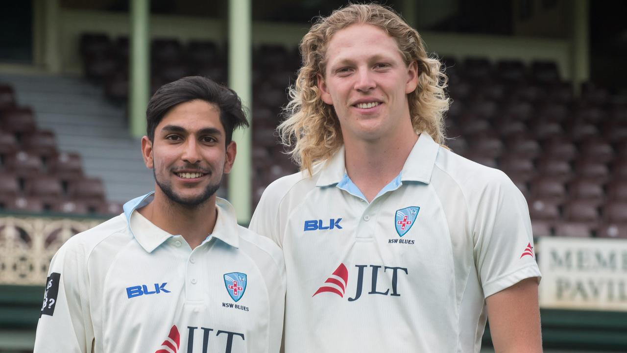 Jason Sangha and Jack Edwards who both made centuries for NSW.
