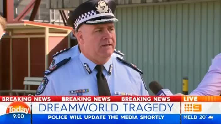 Qld Police say fatal Dreamworld ride 'turned over and flipped'