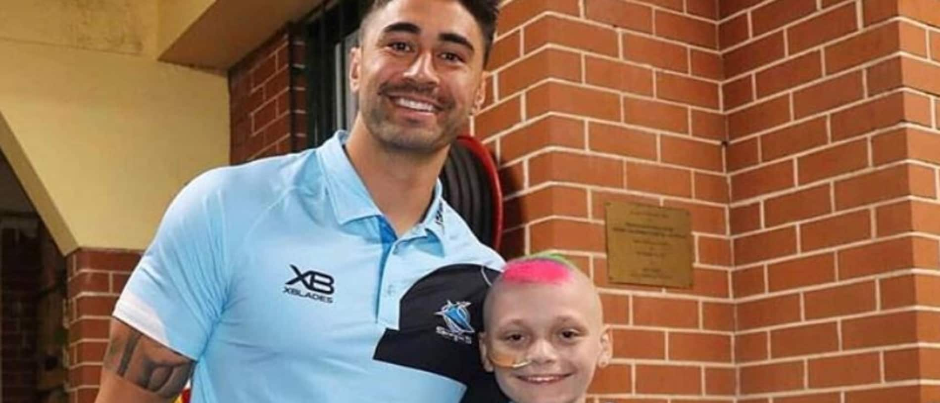 Shaun Johnson with Jason Braniff.