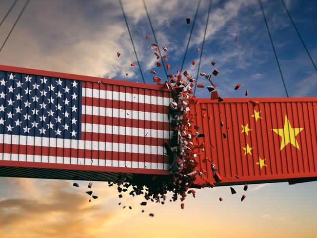 USA and China are engaged in a trade war that is hurting both countries. Picture: Supplied