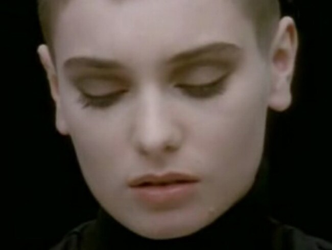 Classic ... Scene from music video Nothing Compares 2 U by Sinead O'Connor.