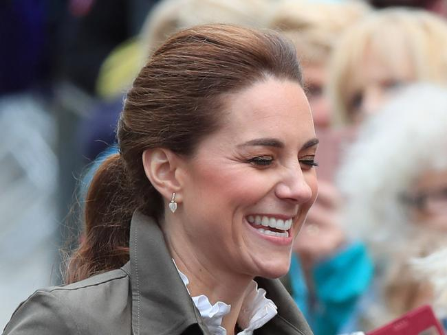 Kate, sweet Kate, surely doesn't have something like this in her. Picture: Peter Byrne/PA Wire