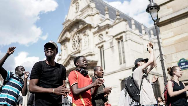 Picture: Kenzo Tribouillard/AFP