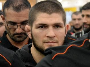 UFC world champion Khabib Nurmagomedov