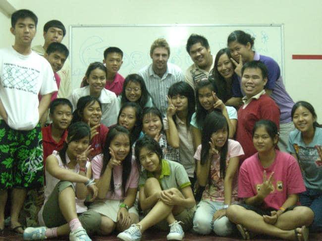 Teaching in Thailand.