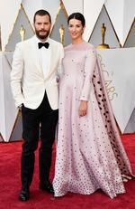 Jamie Dornan and Amelia Warner attend the 89th Annual Academy Awards on February 26, 2017 in Hollywood, California. Picture: Getty