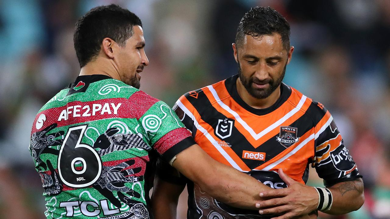 Benji Marshall faces stiff competition for a starting role at Souths.