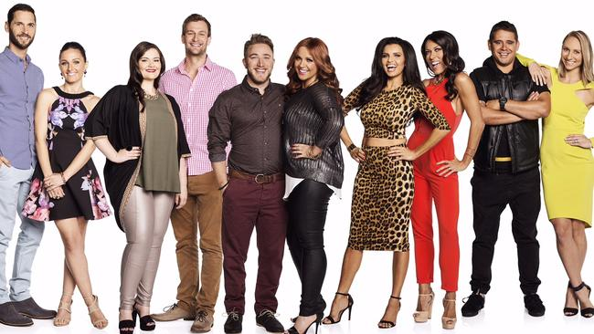 The contestants on the new series of The Block. Picture: Channel 9