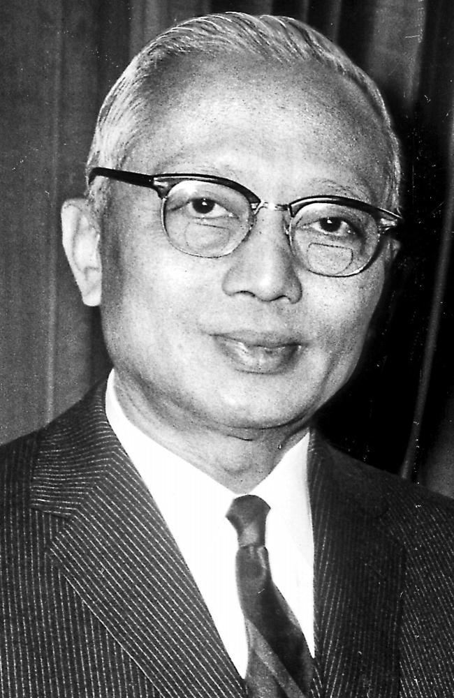 United Nations Secretary-General U Thant.