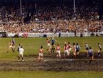 Ah, the old mud baths of 1970s footy. This is a qualifying match between Sturt andf North Adelaide in 1973.