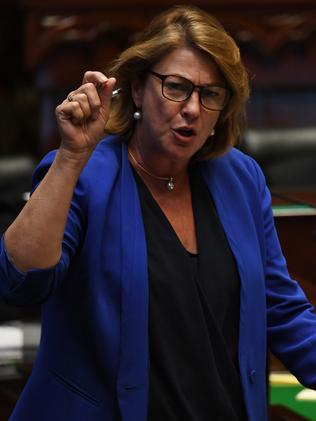Roads Minister Melinda Pavey said the community is sick of reckless behaviour on our roads. Picture: AAP Image/Dean Lewis