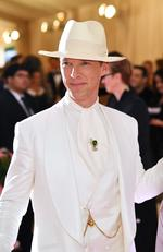 Benedict Cumberbatch attends The 2019 Met Gala Celebrating Camp: Notes on Fashion at Metropolitan Museum of Art on May 06, 2019 in New York City. (Photo by Dimitrios Kambouris/Getty Images for The Met Museum/Vogue)