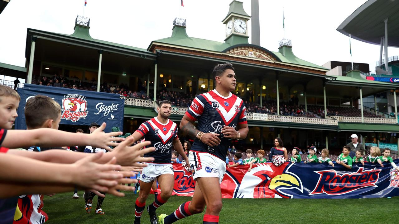 Latrell Mitchell has thrived at the SCG. Picture. Phil Hillyard
