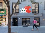 <b>NEW YORK, USA:</b> 322 West 14th Street. Artist: Invader (NYC_176). Picture: Invader