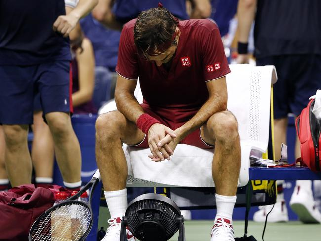 """Roger Federer was beaten by the Queenslander, saying he was """"comes from one of the most humid places on earth""""."""