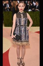 "Tavi Gevinson attends the ""Manus x Machina: Fashion In An Age Of Technology"" Costume Institute Gala at Metropolitan Museum of Art on May 2, 2016 in New York City. Picture: Dimitrios Kambouris/Getty Images"