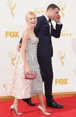 Naomi Watts and Liev Schreiber attend the 67th Annual Primetime Emmy Awards on September 20, 2015 in Los Angeles, California. Picture: Getty