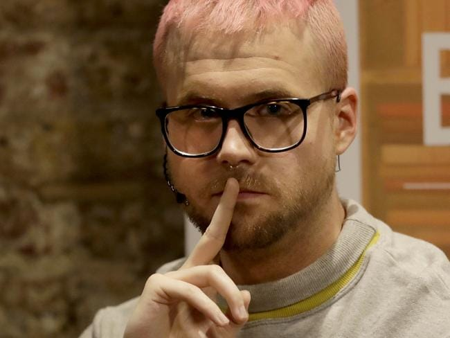 Chris Wylie, from Canada, has been quoted as saying the company he worked for used the data to build psychological profiles so voters could be targeted with ads, stories and political messages. Picture: AP