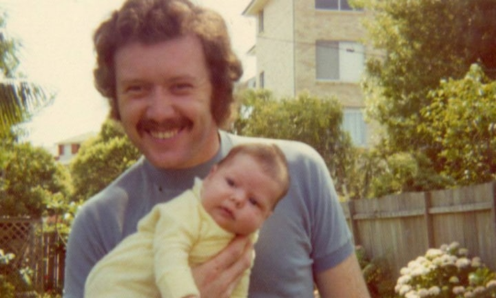 Tracy only got a few precious years with her dad before he was cruelly taken. Image: supplied