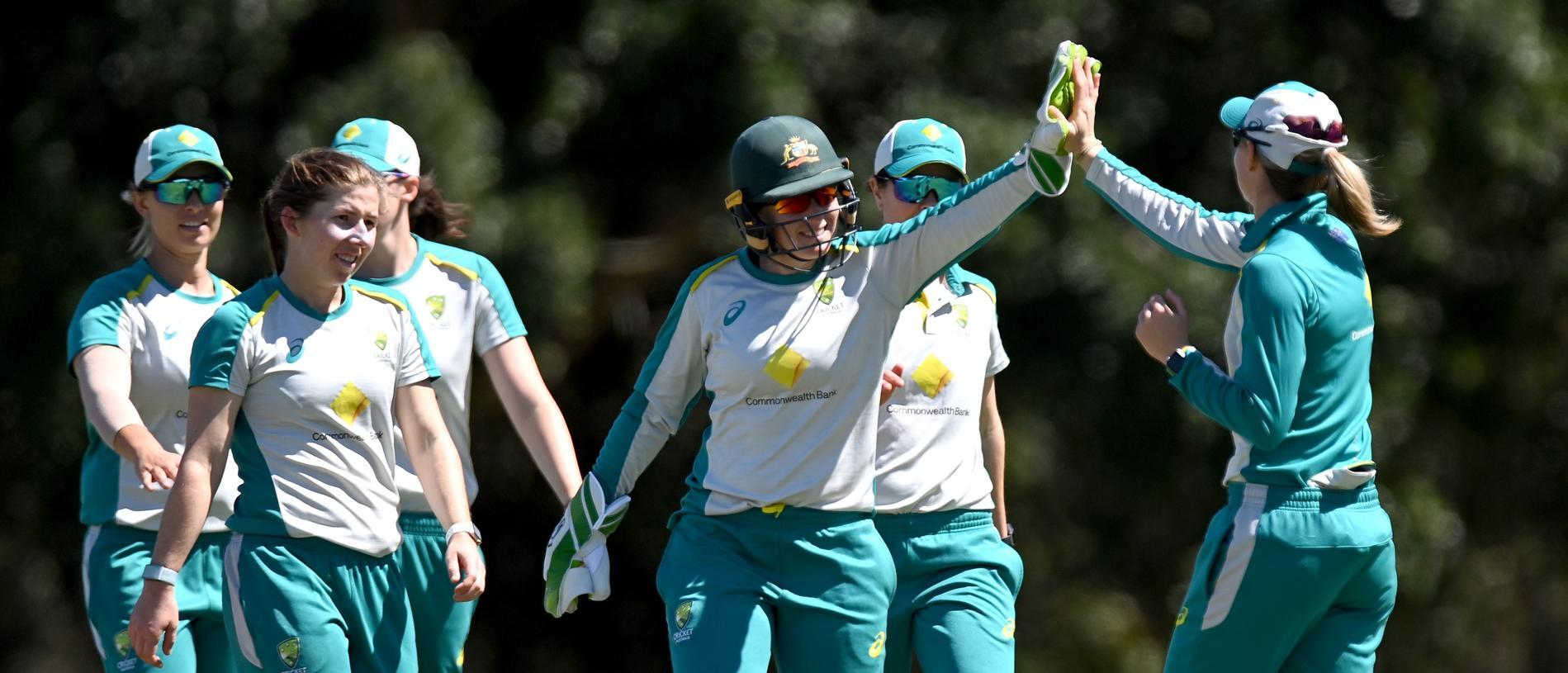 Australian Women's International Warm Up Match