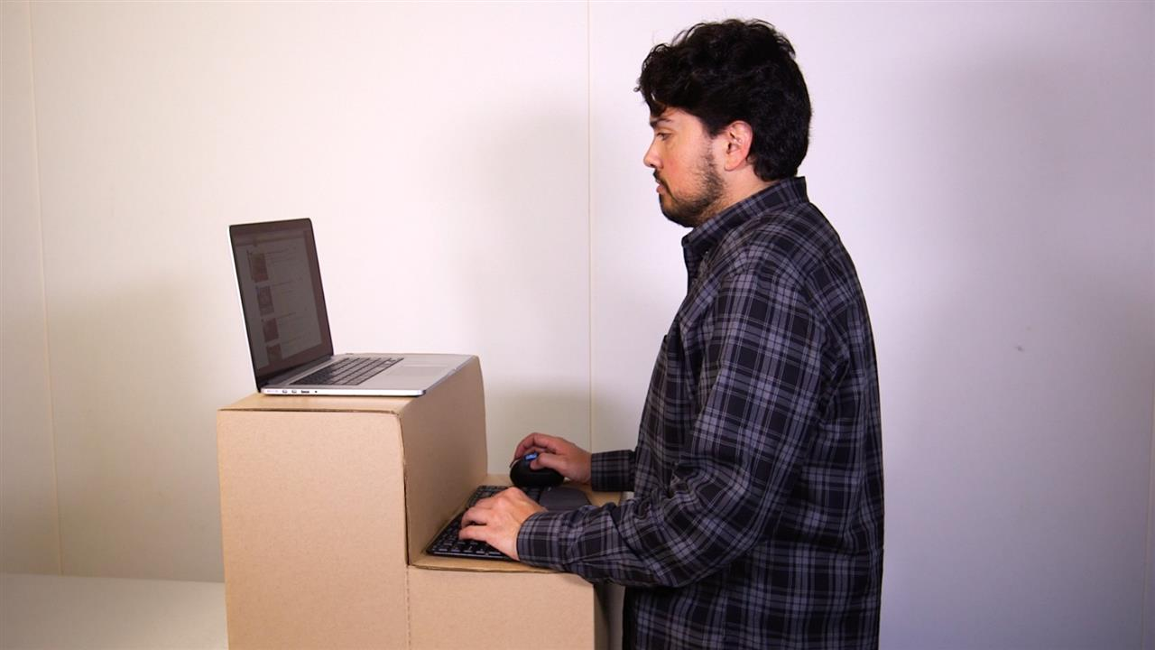 $25 Standing Desk: So Cheap It's Worth a Try