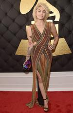 Paris Jackson attends The 59th GRAMMY Awards at STAPLES Center on February 12, 2017 in Los Angeles, California. Picture: Getty