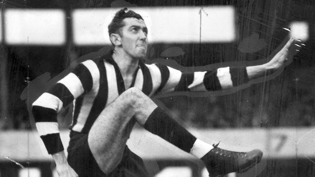 Collingwood footballer Ron Todd.