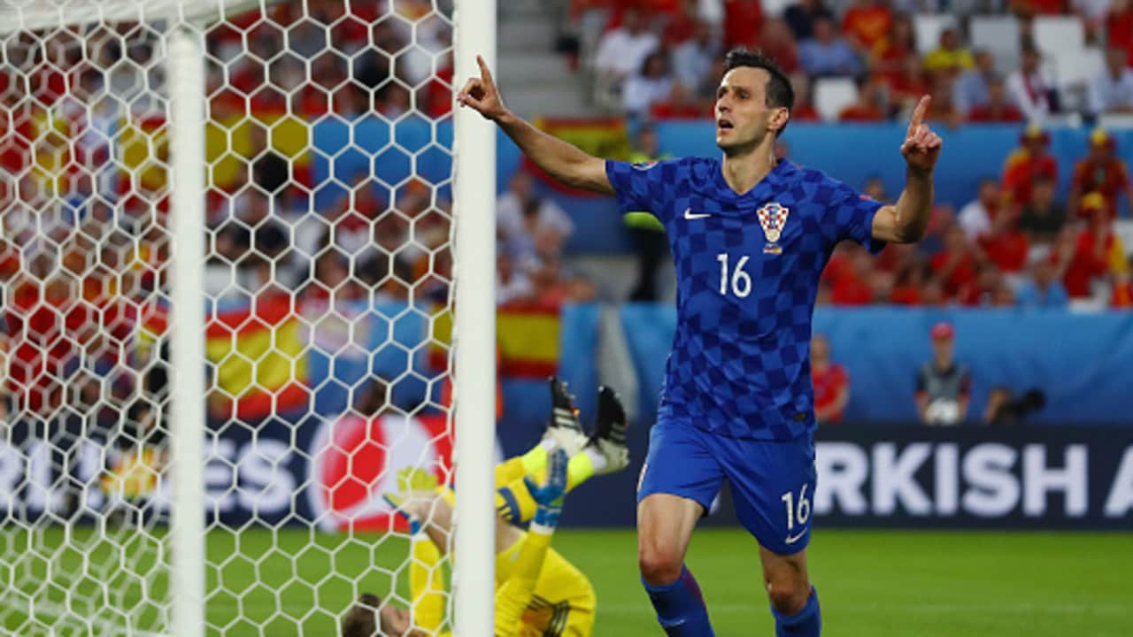 Nikola Kalinic was sent home from Russia.