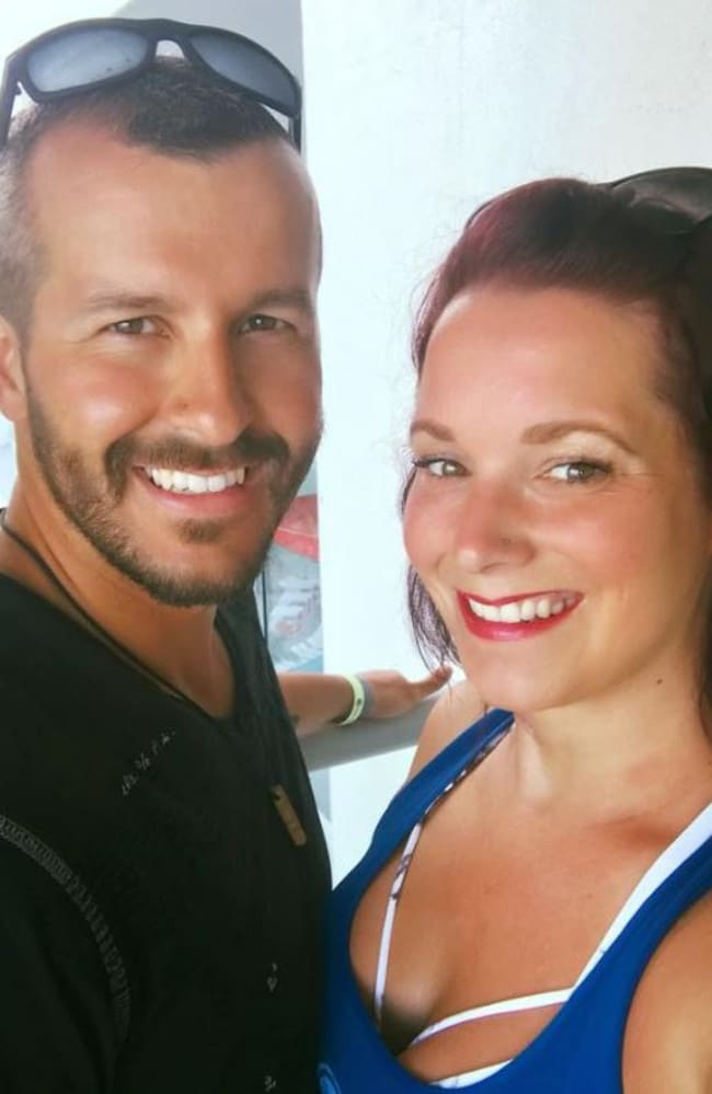 Chris Watts and his wife Shanann.