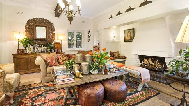 Stylish wares adorn the walls fill the rooms of the four-bedroom stunner.