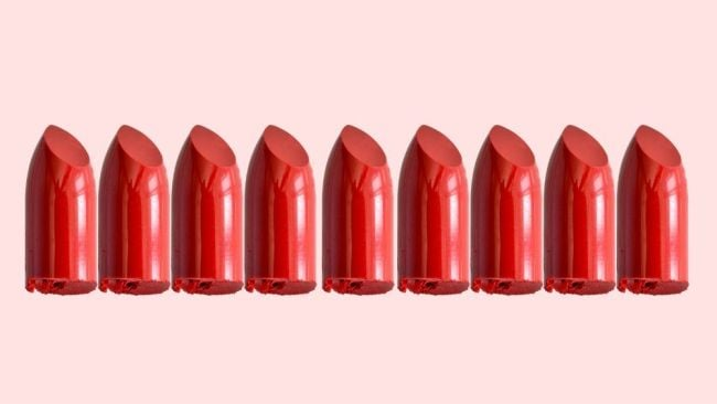 We can't leave a lipstick on a glass, we need to be beyond perfect. Image: iStock.