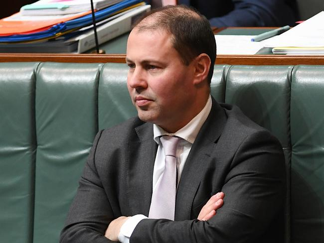 Frydenberg says climate change is a 'major threat to the Great Barrier Reef'. Picture: AAP