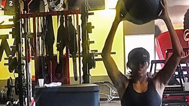 Michelle Obama sends Instagram followers into spin with gym workout