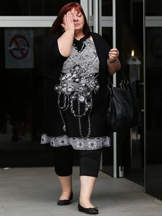The mother of accused dealer Jonathan Carey-Spence after her son was refused bail.