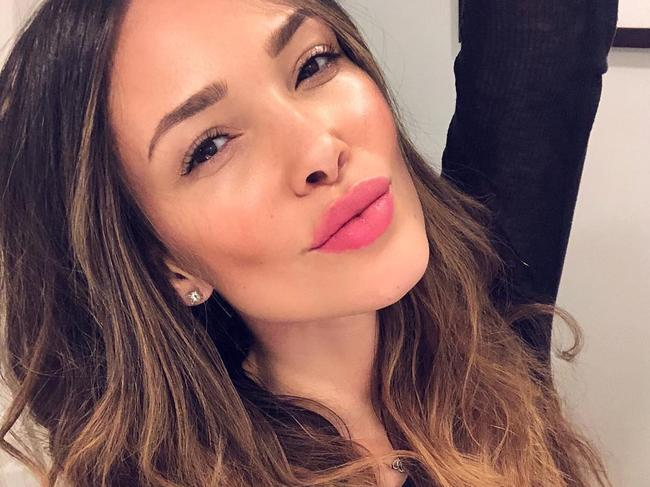 Brazilian model Sabrina Jales St Pierre is suing the hotel. Picture: Instagram