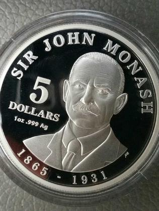 A unique $5 commemorative coins has been released this month by the Royal Australian Mint to celebrate the legacy of General Sir John Monash.