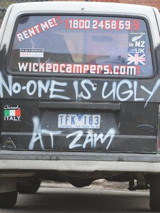 Wicked Campers grubby slogans have parents worried as