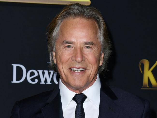 Don Johnson stars opposite Toni in Knives Out. Picture: Jon Kopaloff/Getty Images