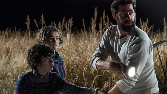 John Krasinski's A Quiet Place has grossed more than $US300 million globally.