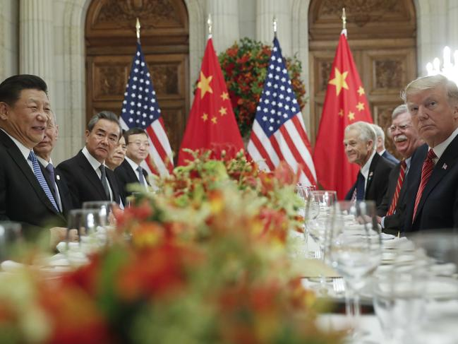 Donald Trump boasted of the success of his meeting with China's President Xi Jinping at the G20 summit, but many observers weren't convinced. Picture: AP Photo/Pablo Martinez Monsivais