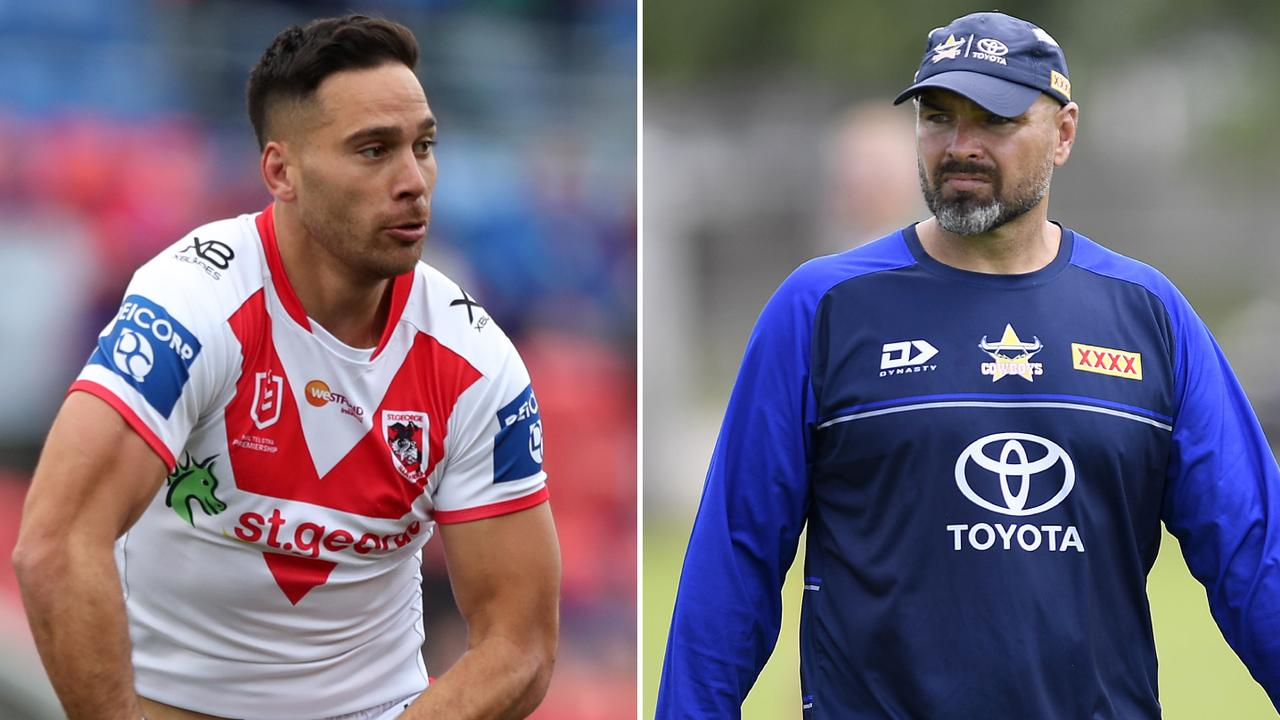 Corey Norman is back for the Dragons, while Todd Payten has stuck loyal to his 17