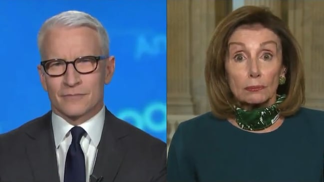 "Pelosi says ""morbidly obese"" Trump taking hydroxychloroquine ""not a good idea"""