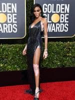 BEVERLY HILLS, CALIFORNIA - JANUARY 05: Winnie Harlow attends the 77th Annual Golden Globe Awards at The Beverly Hilton Hotel on January 05, 2020 in Beverly Hills, California. (Photo by Jon Kopaloff/Getty Images)