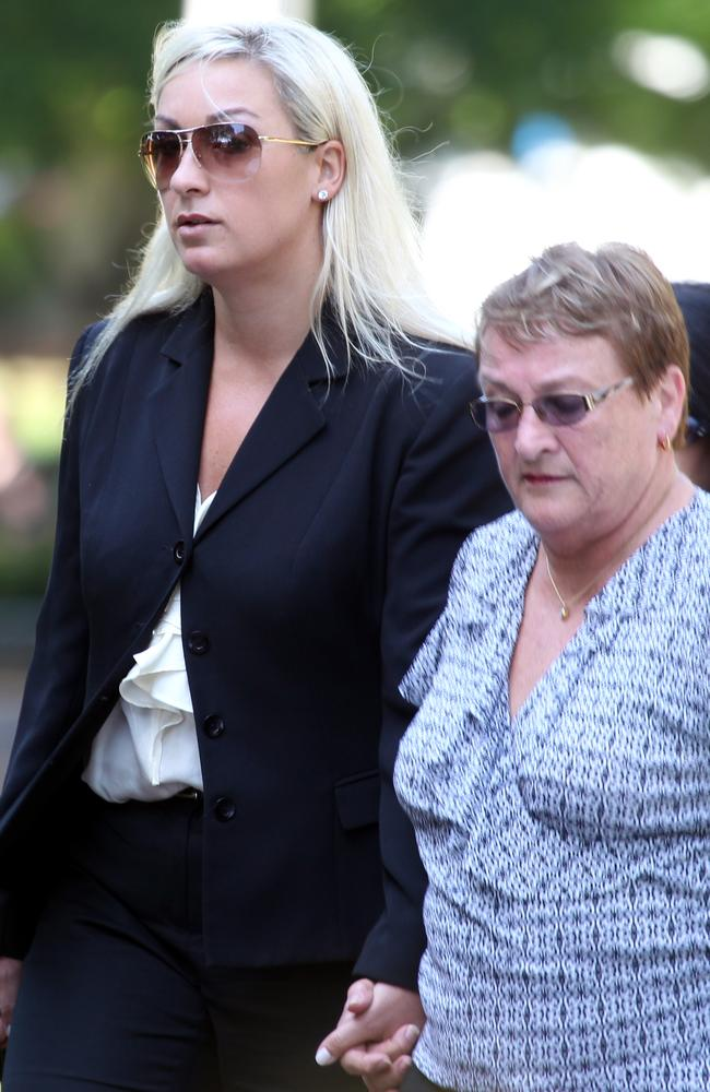 Keli Lane (above with mother Sandra at court) has at least four more festive seasons behind bars after this one.