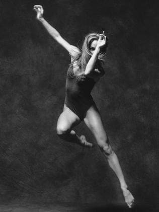 Leigh Warren company dancer Rachel Jenson in Quick Brown Fox, created for the Melbourne Festival in 2001